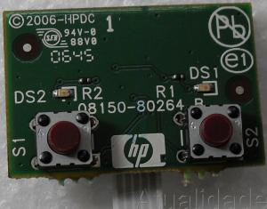Placa Painel Frontal Hp Photosmart C3180 - Q8150-80264