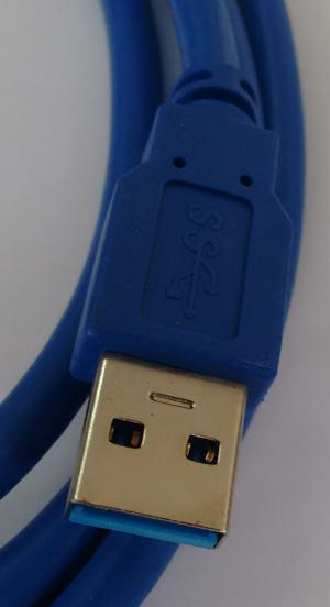 Cabo Usb 3.0 Am x Bm 1.8m P/impressoras Usb 3.0 - Copartner