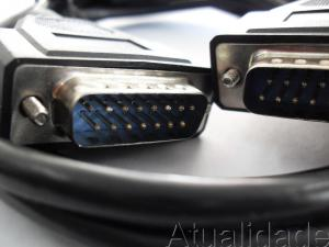 Cabo Monitor Db15 X Db15 Padr�o Apple 1,8 Metros Preto