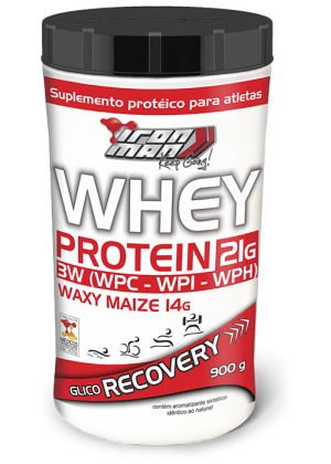 Whey Protein Iron Man (900g) - New Millen