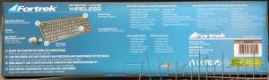 Combo Teclado + Mouse sem Fio KC-601 Preto