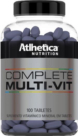 Complete Multi-Vit (100 Tabletes) - Atlhetica Nutrition