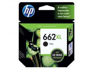CARTUCHO DE TINTA HP SUPRIMENTOS CZ105AB HP 662XL PRETO 6,5 ML