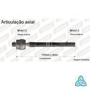 Articulação Axial Renault Master 2002 até 2012 - 680617 - Unidade - Viemar