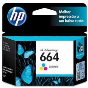 CARTUCHO DE TINTA INK ADVANTAGE HP F6V28AB HP 664 TRICOLOR 2,0 ML