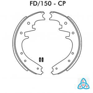 Jogo de Sapata de Freio Ford Ranger  1995 até 1998 - FD150CP - Frasle