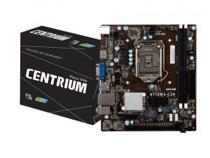 PLACA MAE LGA 1151 INTEL CENTRIUM C2016-H110M4-C2H MATX DDR4 2400MHZ CHIPSET H110 HDMI VGA PPB BOX