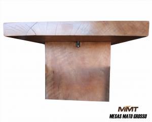 Mesa Retangular em Madeira Cedro Arana