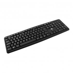 Teclado Bright 0014 Basic preto USB
