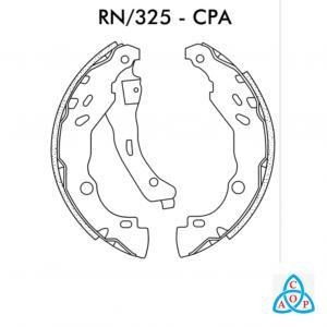 Jogo de Sapata de Freio Renault Logan, Sandero - RN325CPA - Frasle