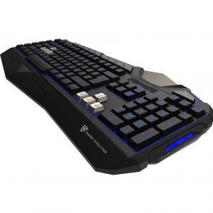 Teclado Gamer Com Led USB Preto Tk25 Thunderx3