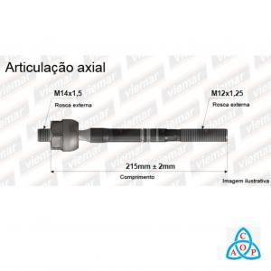 Articulação Axial Nissan Sentra 2013 em diante - 680621 - Unidade - Viemar