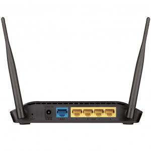 Roteador Wireless 300Mbps DIR-615 Preto D-LINK + Modo Repetidor