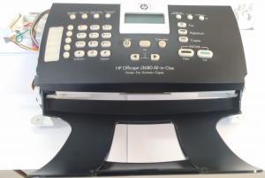 Conjunto Completo Scanner e Fax HP J3680