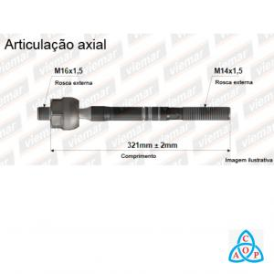 Articulação Axial Vw Golf/Audi/New Beetle/Bora/Jetta 680097 - Unidade - Viemar