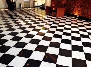 Piso xadrez Liso 2,00mt Largura