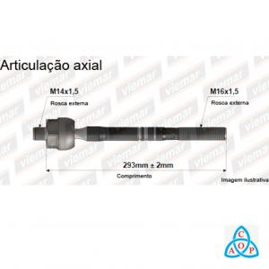 Articulação Axial Ford Focus - 680444 - Unidade - Viemar