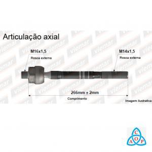 Articulação Axial Gm Celta 2012 até 2016 - 680633 - Unidade - Viemar