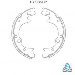 Jogo de Sapata de Freio Hyundai Tucson - HY338CP - Frasle