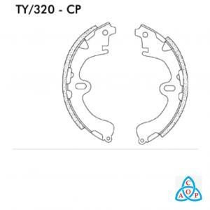 Jogo de Sapata de Freio Toyota Corolla, Camry - TY320CP - Frasle