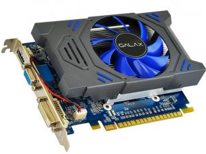 GEFORCE GALAX GT MAINSTREAM NVIDIA GT 730 2GB DDR5 64BIT 5000MHZ 901MHZ 384 CUDA CORES DVI HDMI VGA