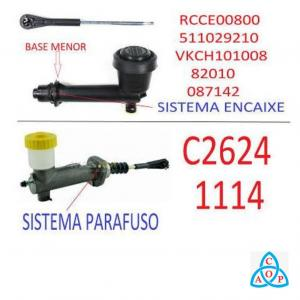 Cilindro Mestre de Embreagem Gm Blazer/S-10 - Unidade - D101008 - FTE