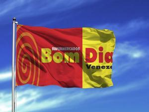 BANDEIRAS INSTITUCIONAIS BORDADO COMPUTADORIZADO.