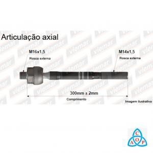 Articulação Axial Vw Fox/CrossFox/Gol/Saveiro/Voyage - 680192 - Unidade - Viemar
