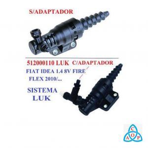 Cilindro Auxiliar de Embreagem Fiat Doblo/Idea/Palio/Siena/Strada - Unidade - 512000100 - Luk