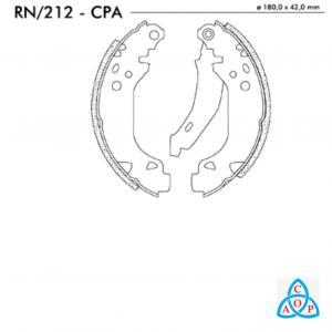 Jogo de Sapata de Freio Renault Clio - RN212CPA - Frasle