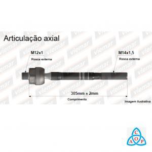Articulação Axial Renault Clio/Kangoo - 680134 - Unidade - Viemar