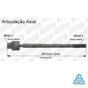 Articulação Axial Corsa/Meriva/Montana - 680178 - Unidade - Viemar