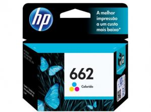 CARTUCHO DE TINTA INK ADVANTAGE HP CZ104AB HP 662 TRICOLOR 2,0 ML