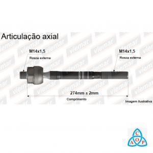 Articulação Axial Ford EcoSport/Ká/Fiesta - 680184 - Unidade - Viemar