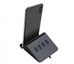 HUB DE MESA COM 4 PORTAS USB 2.0 BRIGHT