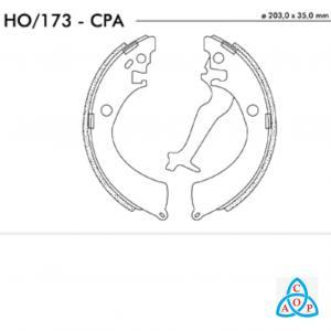 Jogo de Sapata de Freio Honda Civic - HO173CPA - Frasle