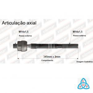 Articulação Axial Ford Focus - 680287 - Unidade - Viemar