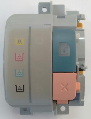 Painel de Controle HP CP1215 Com cabo flat