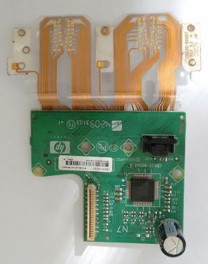 PLACA CONTROLADORA DOS CARTUCHOS HP CB605-80042-A