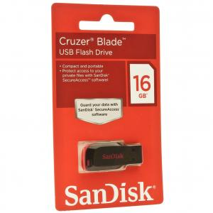 Pendrive Sandisk / USB Flash Drive Cruzer Blade - 16GB