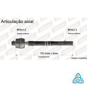 Articulação Axial Kia Bongo - 680197 - Unidade - Viemar