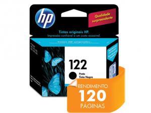 CARTUCHO DE TINTA HP  122 PRETO 2ML - CH561HB