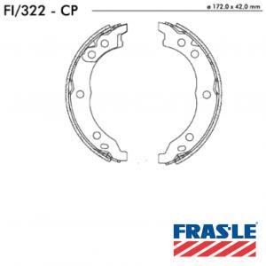 Jogo de Sapata de Freio Citroen Jumper - Fiat Ducato - PEugeot Boxer - FI322CP - Frasle