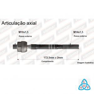 Articulação Axial Kia Sorento - Direito 680307/ Esquerdo 680308 - Unidade - Viemar