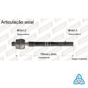 Articulação Axial Ford Fusion 2006 até 2010 - 680291 - Unidade - Viemar