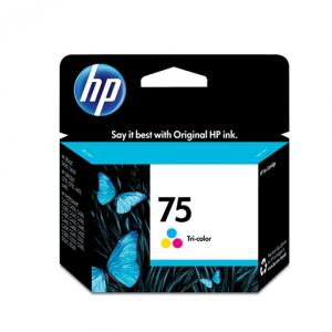 CARTUCHO DE TINTA HP SUPRIMENTOS CB337WB HP 75 COLOR 5,5M