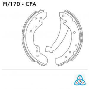 Jogo de Sapata de Freio Citroen Jumper - Fiat Ducato - Peugeot Boxer - FI170CPA - Frasle