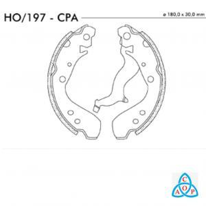 Jogo de Sapata de Freio Honda Fit - HO197CPA - Frasle