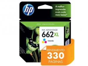 CARTUCHO DE TINTA HP SUPRIMENTOS CZ106AB HP 662XL TRI-COLOR 8,0 ML