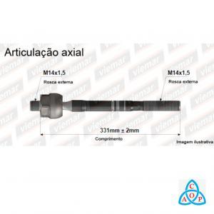 Articulação Axial Gm Captiva 2008 até 2010 - 680516 - Unidade - Viemar